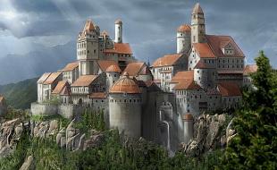 Schloss des Königspaares