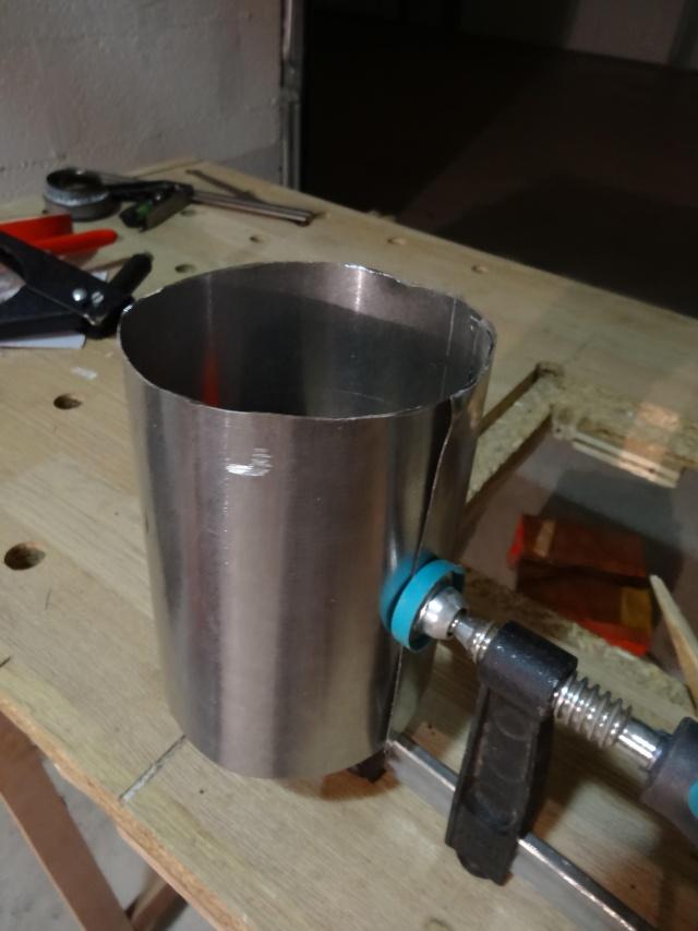 [TUTO] Fabriquer un protège quart+réchaud Dsc04525