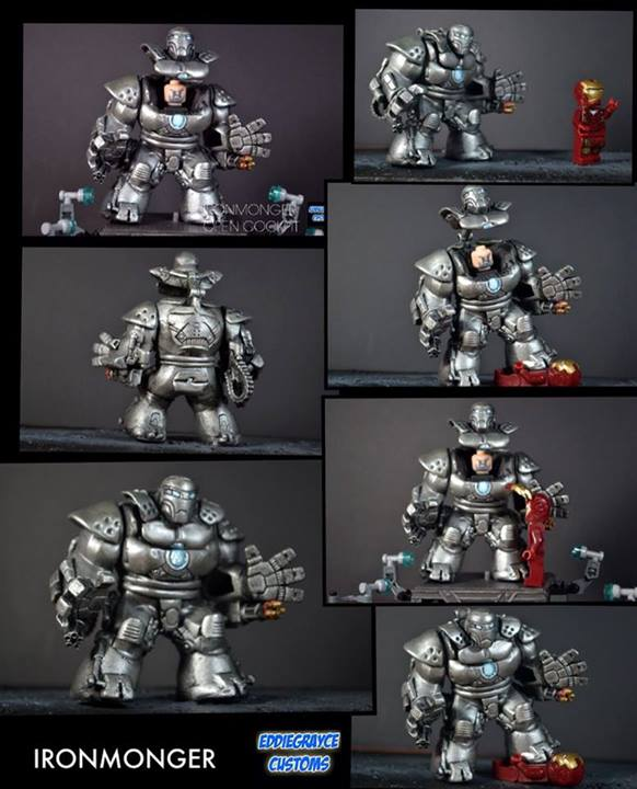 Custom Lego/Mega Bloks Scale Hulkbuster 10256210