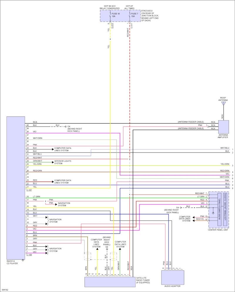 Mitsubishi Lancer GT 2012, recherche wiring diagram center panel unit  Va384122
