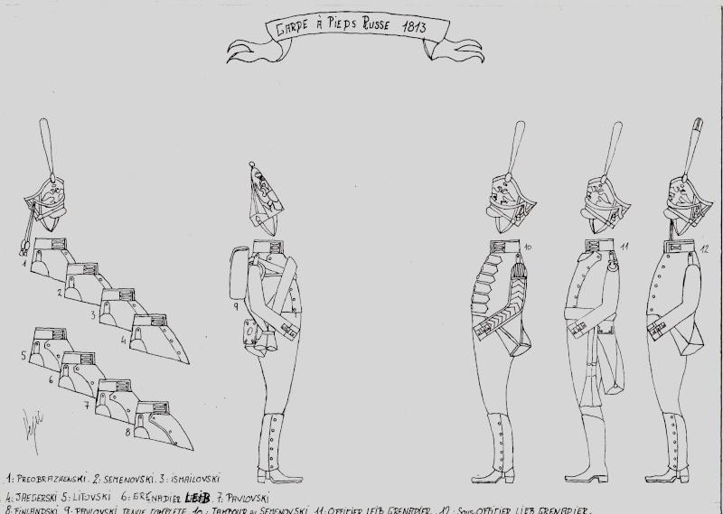 les planches du colonel lepic Garde_12