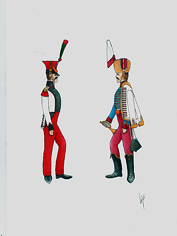 les planches du colonel lepic Musici12