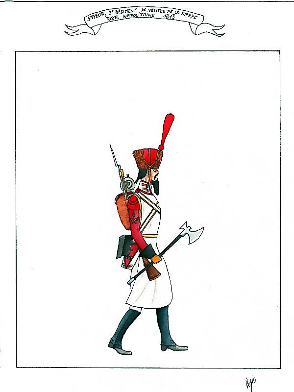 les planches du colonel lepic Sapeur13