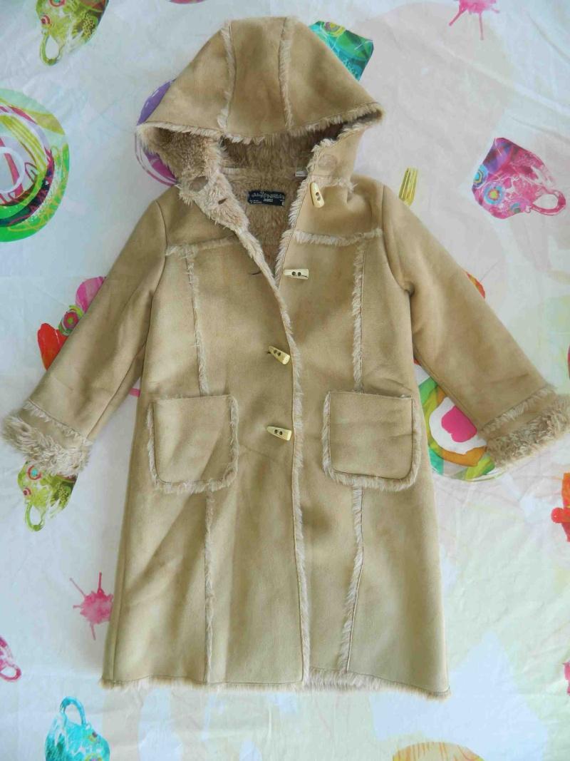 manteau zara et gilet manteau Catimini 6 ans Zara_r10