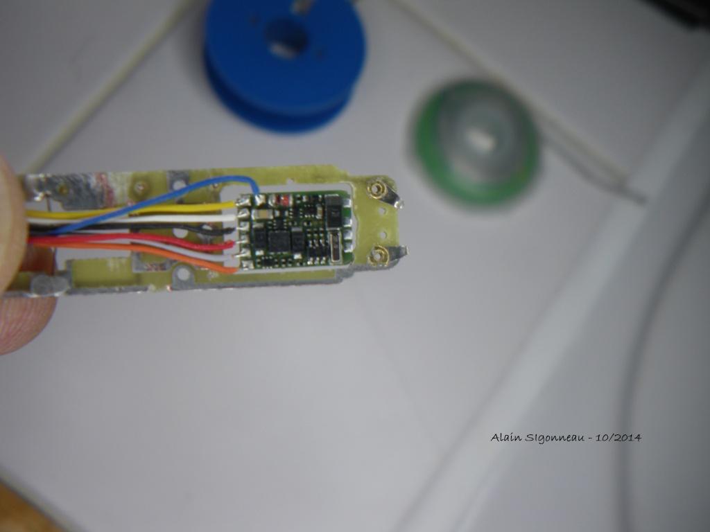 Digitalisation AE 3/6 Marklin Z + décodeur Lenz SILVERmini+ 4imgp010