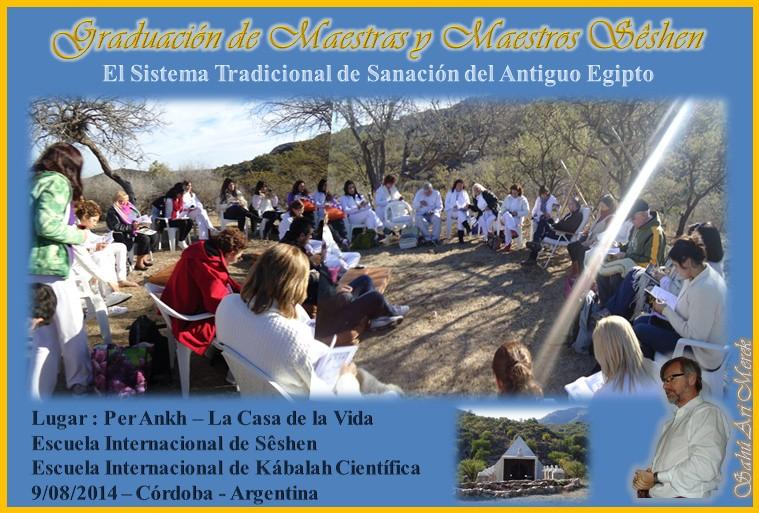 Graduación de Maestros Sêshen en la Pirámide - Per Ankh 9/08/2014 Gradua10