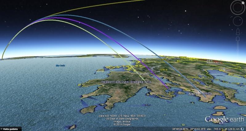 Antares - Azimuth di lancio missioni Antares Cattur10