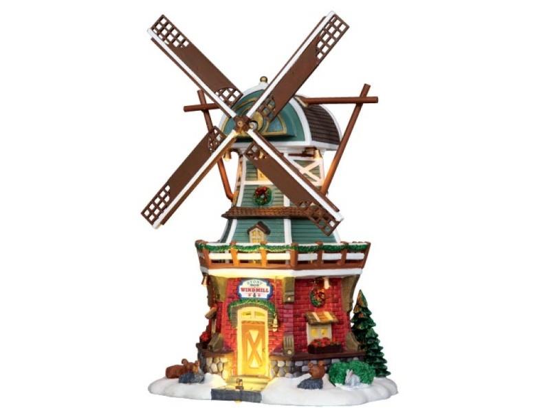 comment reparer les pales Stony Brook Windmill de chez Lemax 2538411