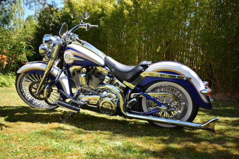 CVO Softail Deluxe 2014 Candy Cobalt: the Blue Diamond - Page 6 10502011