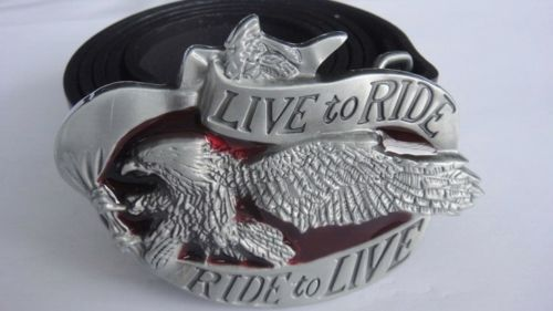 Live to Ride - Ride to Live (belt & buckle)  Belt13