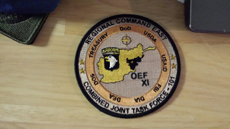 Afghanistan NIU, Counter Drug -Narco, DEA, US Military Narcoterrorism Patches 20140914