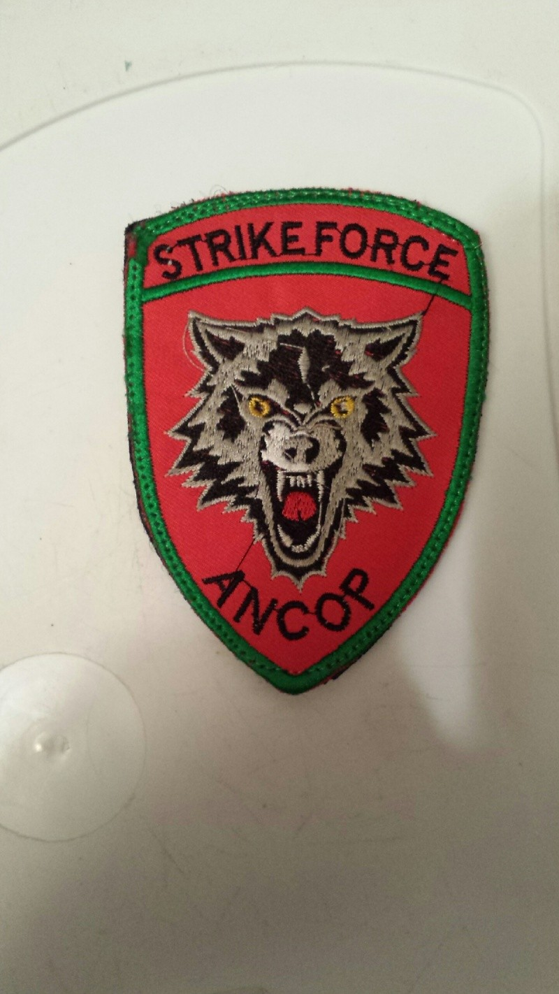 Afghanistan NIU, Counter Drug -Narco, DEA, US Military Narcoterrorism Patches 20140917