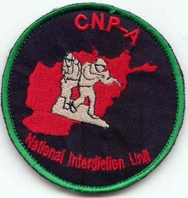 Afghanistan NIU, Counter Drug -Narco, DEA, US Military Narcoterrorism Patches Deacnp10