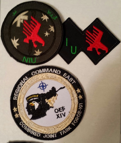 Afghanistan NIU, Counter Drug -Narco, DEA, US Military Narcoterrorism Patches Ibo_bo10
