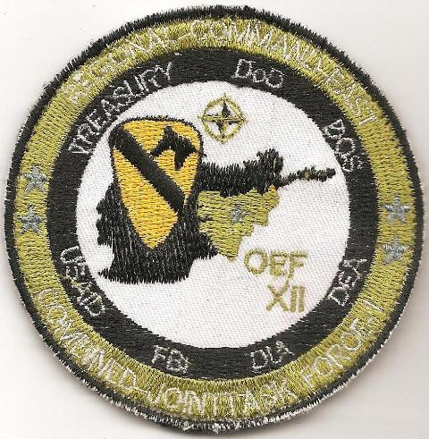 Afghanistan NIU, Counter Drug -Narco, DEA, US Military Narcoterrorism Patches Msg-1610