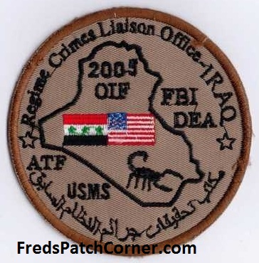 Afghanistan NIU, Counter Drug -Narco, DEA, US Military Narcoterrorism Patches Regime10