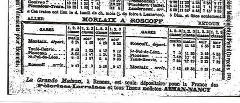 """Une de mes """"bibles""""... L'Horaire SIMON de 1897 Numris12"""
