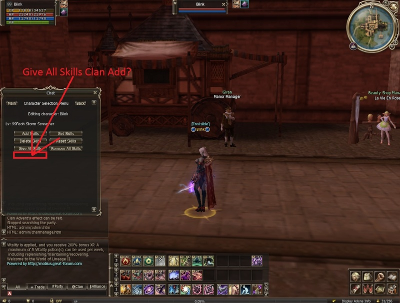 Can add Clan Skills all? Shot0013