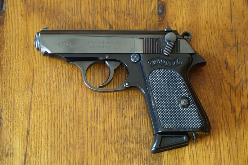 Walther PPK-L 22lr Datation ? 00110