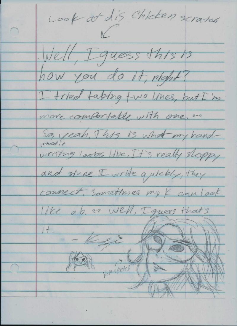Share your handwriting! Handwr10
