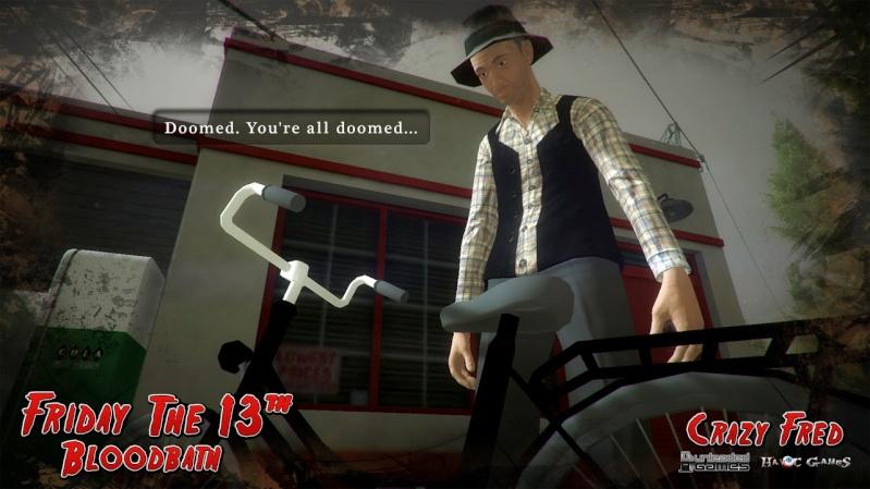 Friday the 13th: Bloodbath, un fan game en développement Crazyf10
