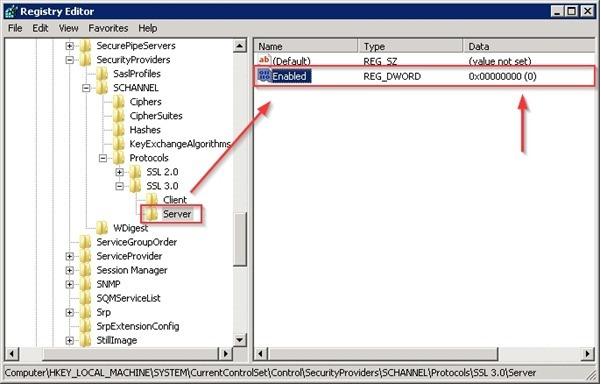 Poodle SSL  v3 Attack V310
