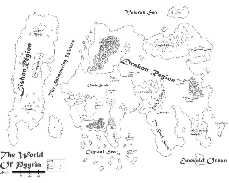 Pyyria Map  Pyyria11