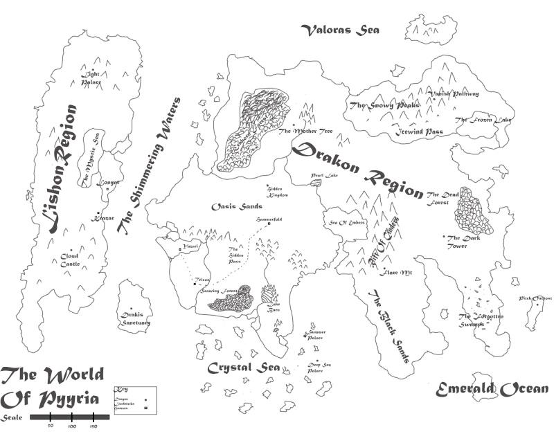 Pyyria Map  Pyyria12