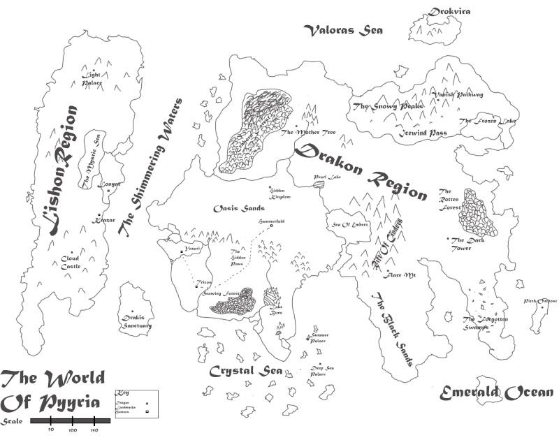 Pyyria Map  Pyyria14
