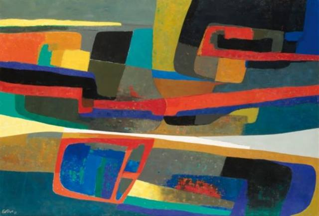 Huiles abstraites 10363510
