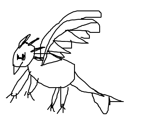 Weird Drawing I did when I was little. 1_1_1_10