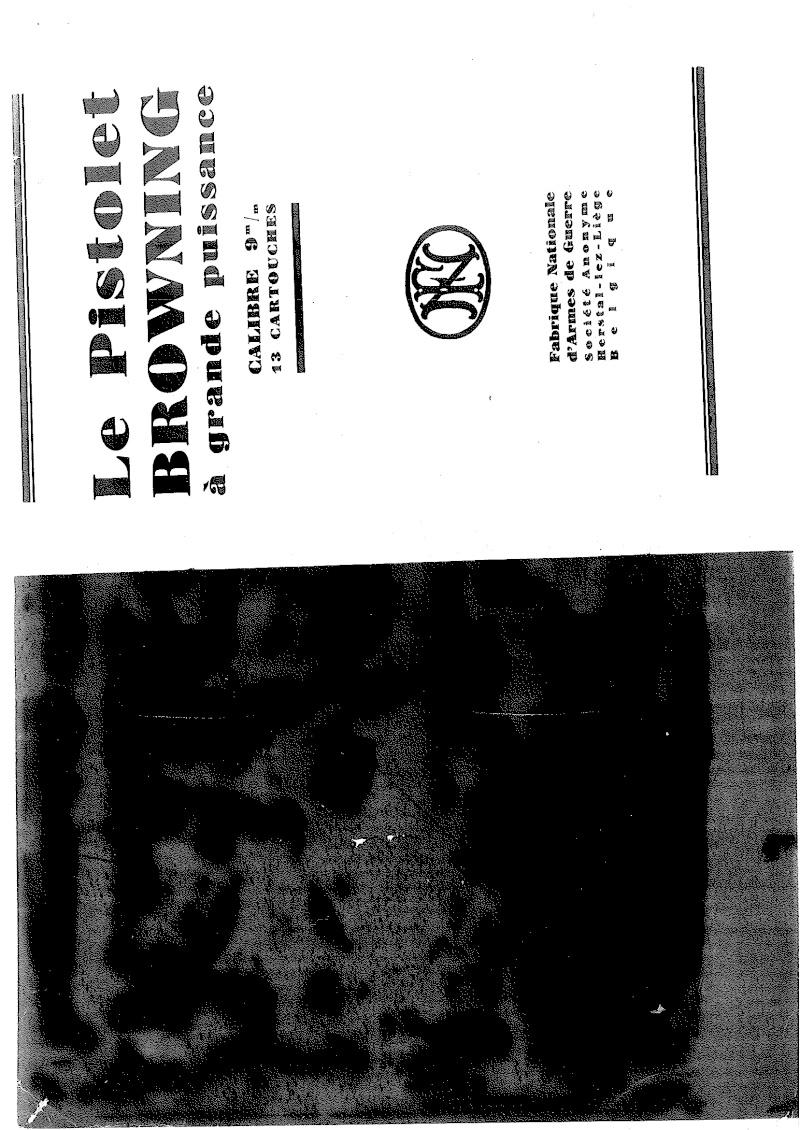 Manuel technique du FN browning GP 35 - différents types 20140810