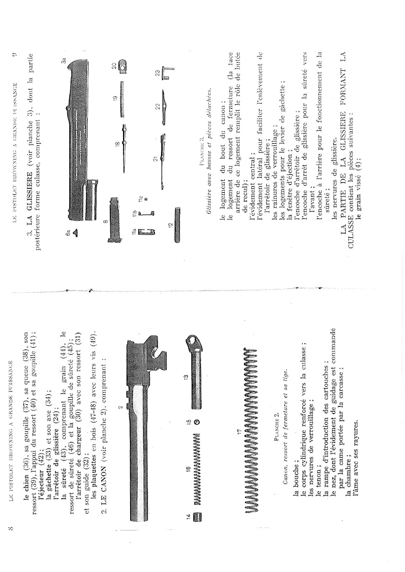 Manuel technique du FN browning GP 35 - différents types 20140815