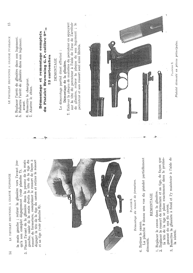 Manuel technique du FN browning GP 35 - différents types 20140820