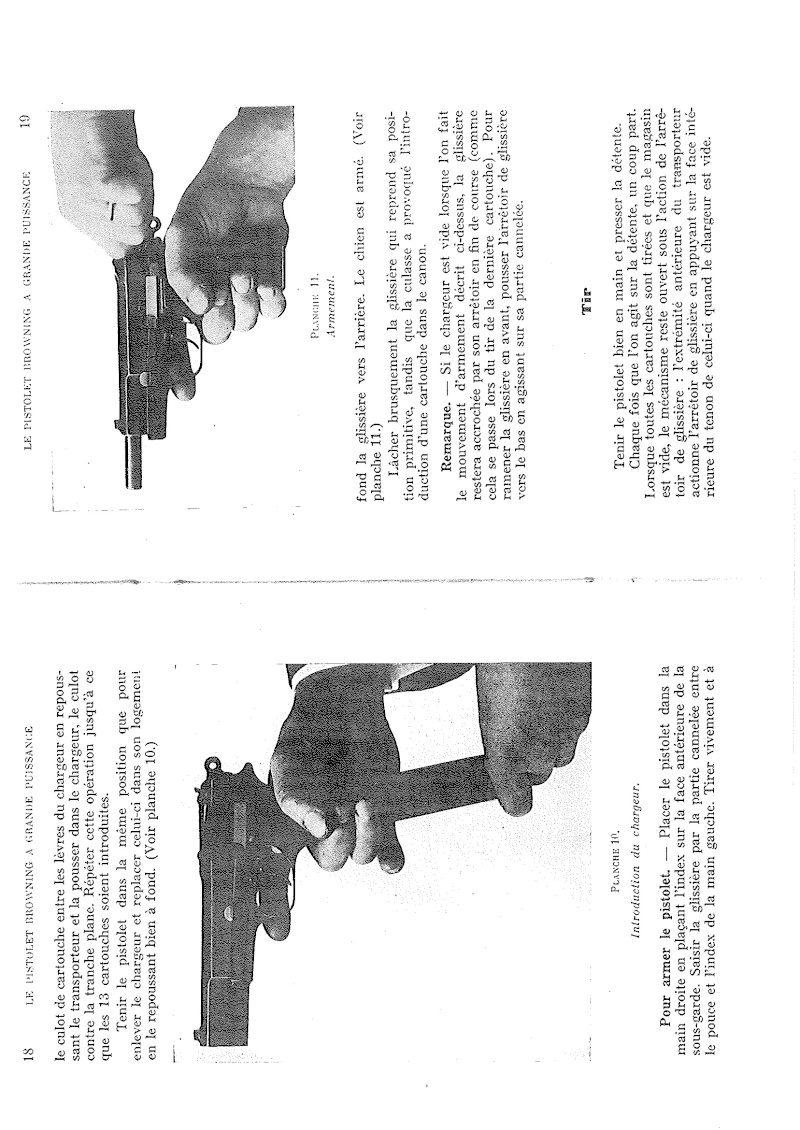 Manuel technique du FN browning GP 35 - différents types 20140822