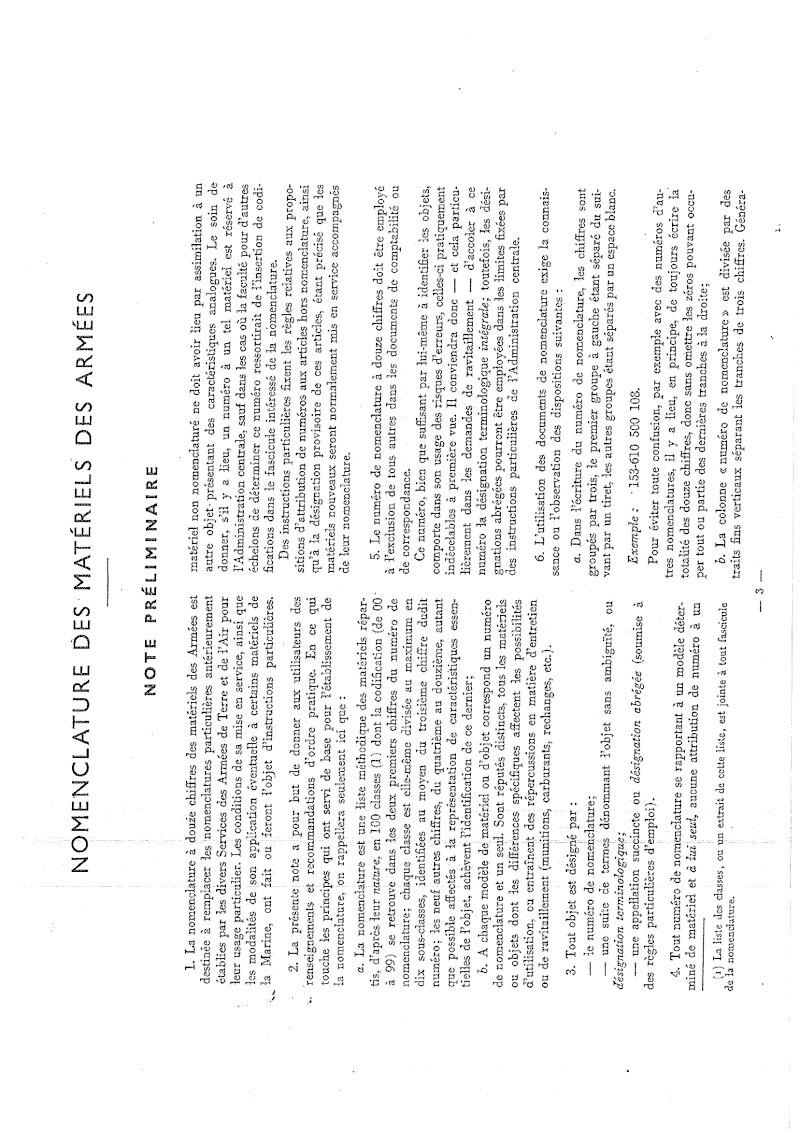 Nomenclare du luger P08 dans les armées française 1951 20140911