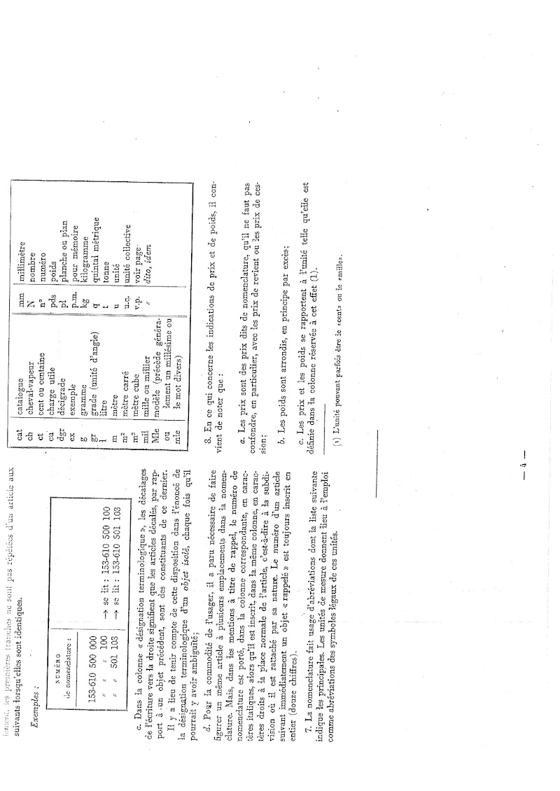 Nomenclare du luger P08 dans les armées française 1951 20140913