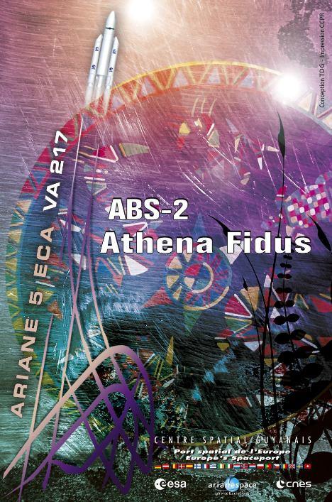 Recherche Poster Vol Ariane CSG Va217110