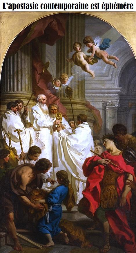 L'apostasie contemporaine est éphémère Pierre10