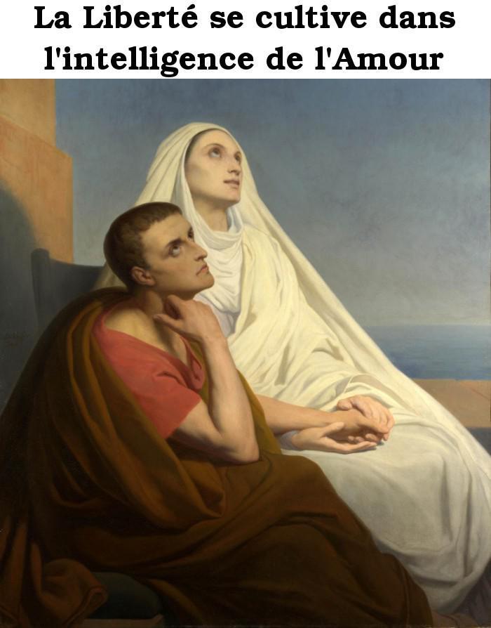 La Liberté se cultive dans l'intelligence de l'Amour Saint_13