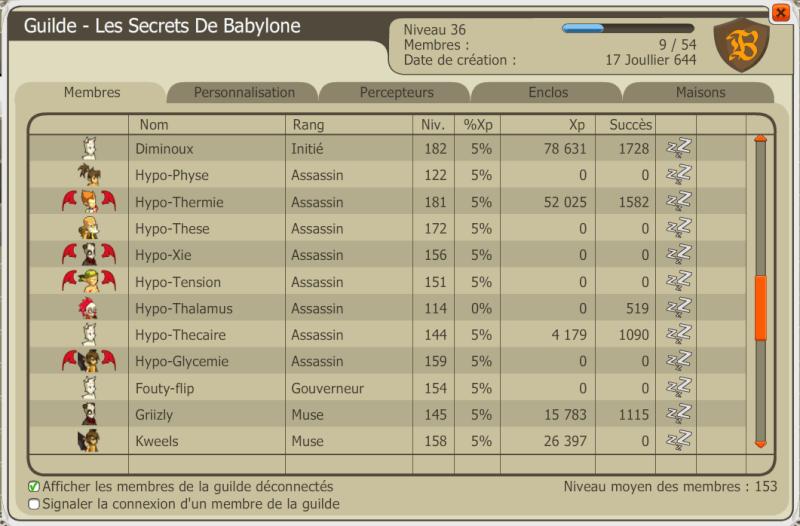 Candidature des Secrets de Babylone Captur14