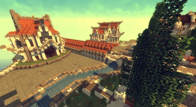 [Projet] La Capitale de Lorwyn - Finaën 2014-033