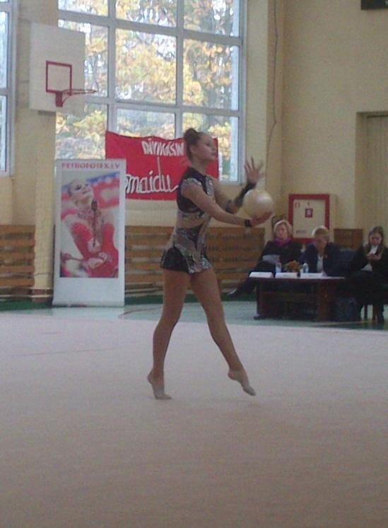 Чемпионат Риги по художественной гимнастике 2014  G10