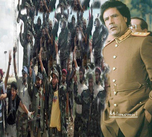 Somalisation de la Lybie réussie صوملة  ليبيا  نجحت  Kadhaf10