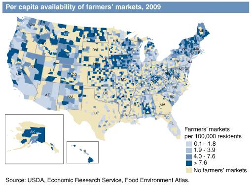 Local Food and Growing Maps Todo1110