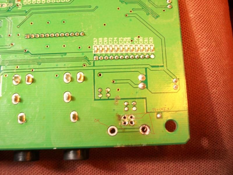 Problème à résoudre circuit imprimé: 1bis10