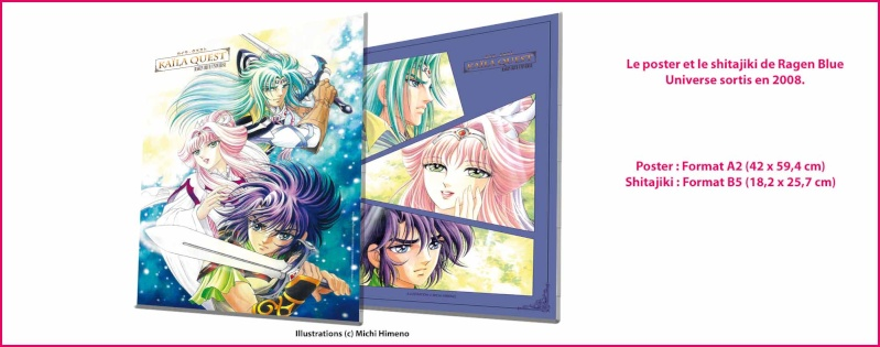 Ragen Blue : de nouvelles illustrations de Michi Himeno (Saint Seiya, Lady Oscar) Ragenb14