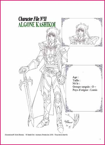 Ragen Blue : de nouvelles illustrations de Michi Himeno (Saint Seiya, Lady Oscar) Ragenb16
