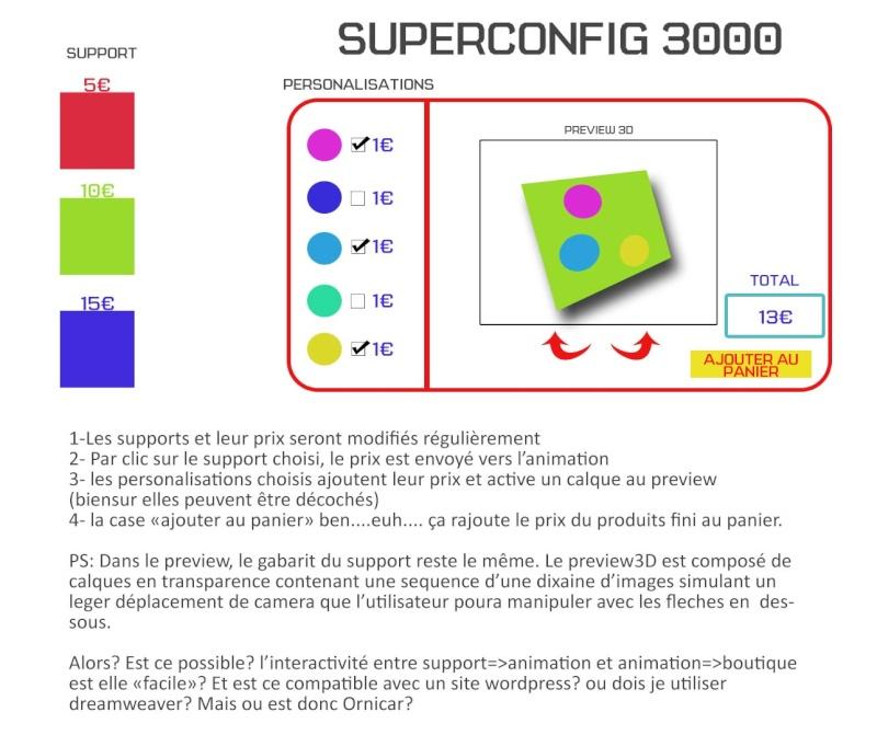 Configurateur de produit Superc10