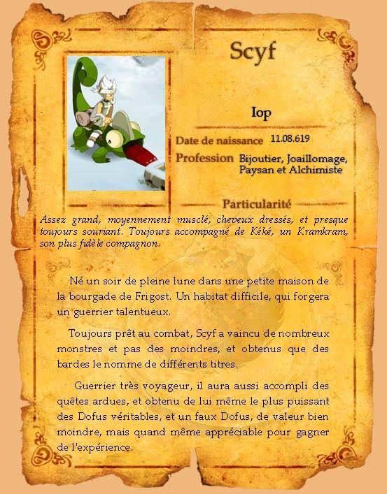 Présentation de Scyf Scyfpa10